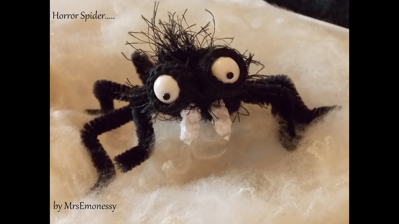 Diy Häkeln Horror Spinne Halloween Youtube