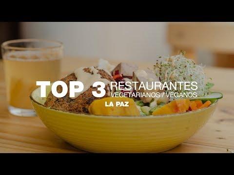 Top 3: Restaurantes vegetarianos/veganos