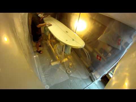 Hot Coating 8 Foot Surfboard Deck