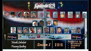 MSPG   season 1   Eps 23    Nicky Astria - Bidadari (Lagu Cinta)