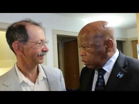 John Lewis and Arnie Alpert talk about Ella Baker, the Mother of SNCC