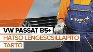 Hogyan cseréljünk Kerékcsapágy készlet VW PASSAT Variant (3B5) - video útmutató