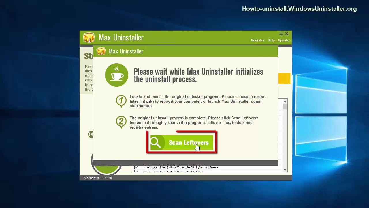 Remove IOTransfer Rainmeter from Your PC - Windows Tutorials