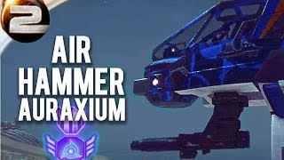 Air Hammer Auraxium! Planetside 2 Gameplay and commentary