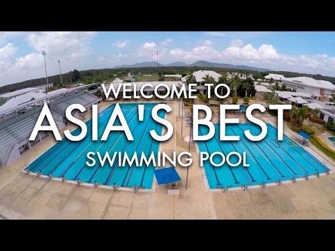 Welcome To Asia's Best Pool at Thanyapura Phuket Health & Sports Resort