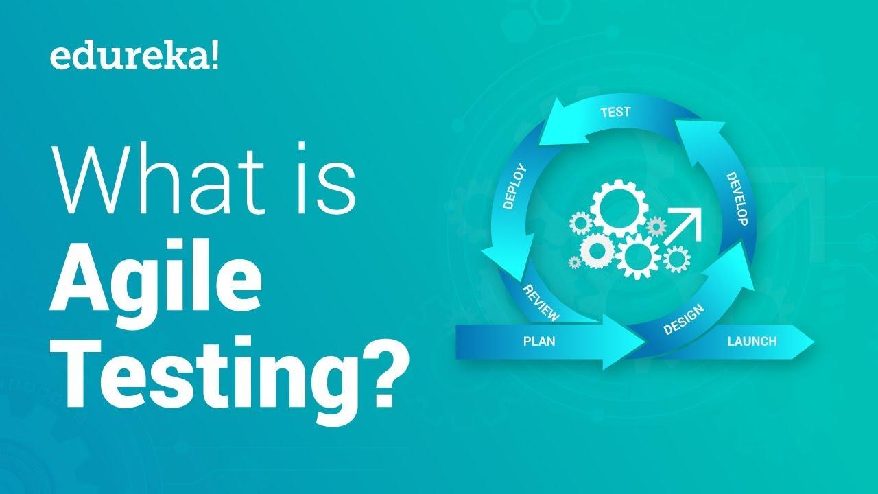 What Is Agile Testing Agile Scrum Testing Methodologies Software Testing Tutorial Edureka Youtube