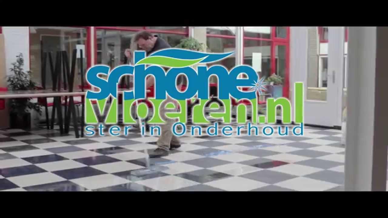 Het reinigen van een linoleum vloer youtube