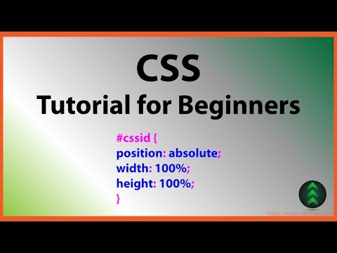 CSS Tutorials for Beginners - Cascading Style Sheets Simplified