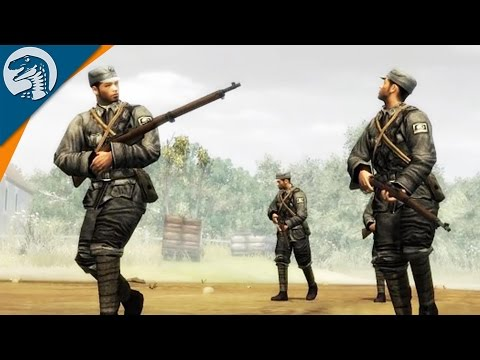 DEFENDING CHINESE RIVER | Far East War Mod | Company of Heroes [MOD] Gameplay
