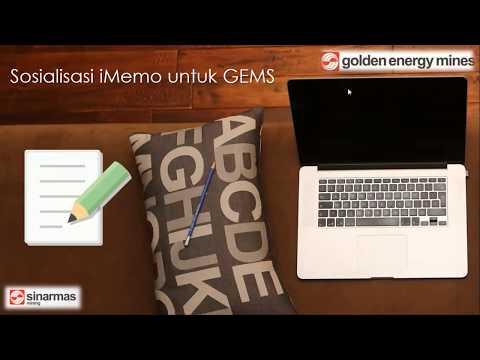 Sinarmas Mining - Sosialisasi IMemo For GEMS