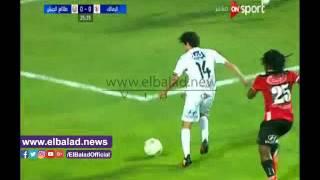 باسم مرسي يفتتح التسجيل للزمالك أمام الطلائع من ركلة جزاء.. فيديو
