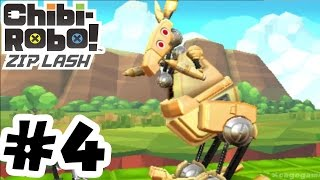 Chibi-Robo! Zip Lash - Gameplay Walkthrough Part 4 World 1 Boss - 3DS 60FPS