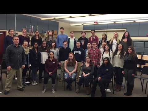 South Vocal Ensemble performs Gaman, from Allegiance