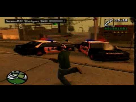 Grand Theft Auto San Andreas Gameplay Ps2 Youtube
