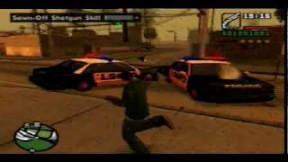 Grand Theft Auto San Andreas Gameplay (PS2)
