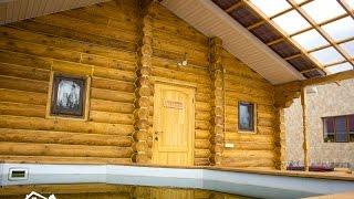 Баня от компании Приморская усадьба . Уссурийск(Большая, высокая и очень красивая баня. Эксклюзивный заказ. Комната для отдыха. Купель. и многое другое...., 2015-11-17T02:47:31.000Z)