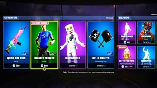 *NEW* FORTNITE ITEM SHOP! (NEW SKINS) JULY 27th -Battle Royale