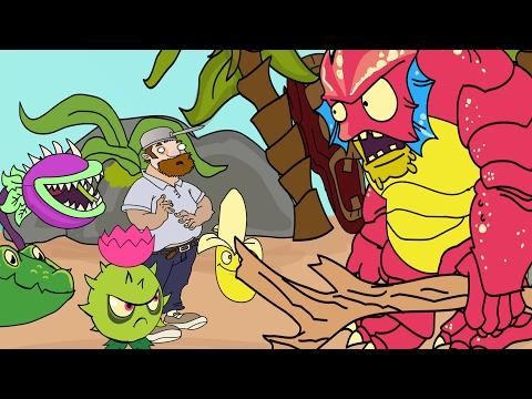 Plants vs Zombies 2 ANIMATION Big Wave Beach (Parodia)