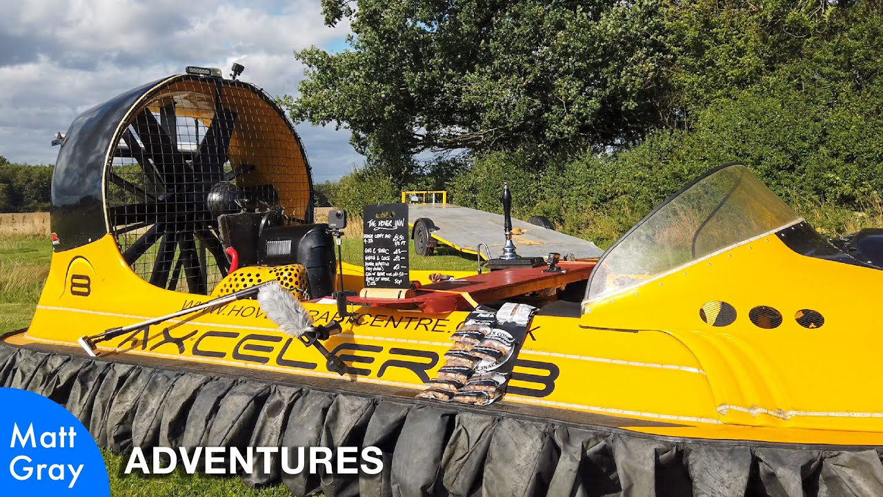 Youtube Thumbnail Image: How We Built A Hovercraft Pub