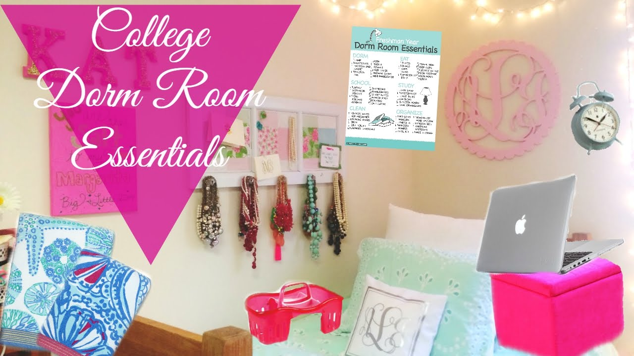 Good College Dorm Room/Apartment Essentials | Storage/Organization Tips U0026 Tricks Part 11