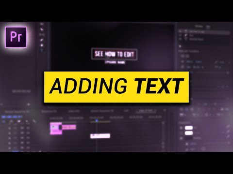 Creating Motion GRAPHICS in Premiere Pro