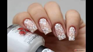 свадебный дизайн ногтей часть 1