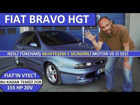 #FIAT #BRAVOHGT 155 20V YOUTUBE'DAKİ EN KAPSAMLI İNCELEMESİ / TEST SÜRÜŞÜ