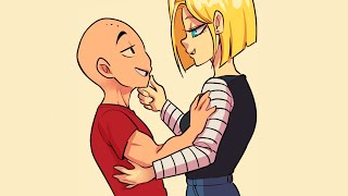 Android 18 Has A Gift For Krillin (DBZ Comic Dub)
