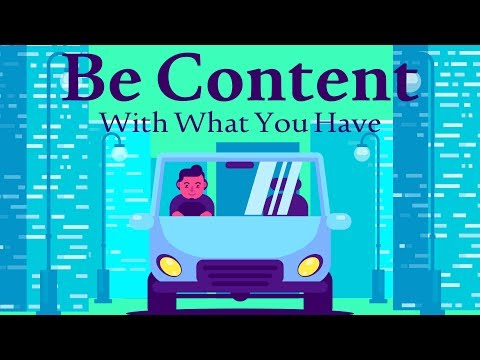 Be Content With What You Have | Mufti Menk | Blessed Home Series