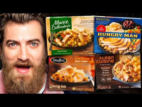 Frozen Thanksgiving Dinner Taste Test