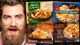 What's The Best Frozen Thanksgiving Dinner? Taste Test
