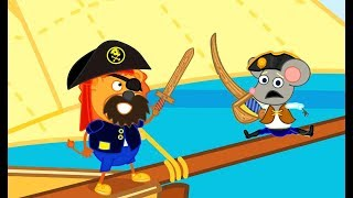 Lion Family Pirate Stories 2 Cartoon for Kids