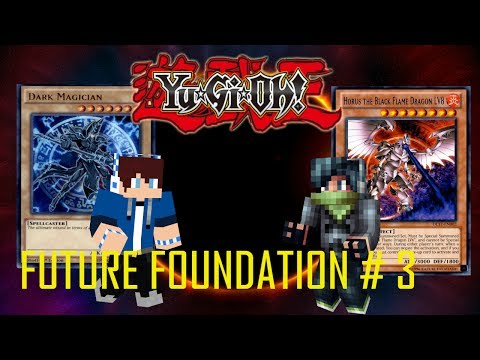 Yu-Gi-Oh ! Future Foundation : Episode 3 To America The Tournament Begins ( Minecraft Roleplay )