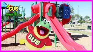 Outdoor playground for kids! Family Fun Children's Playtime at the Park