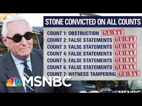 Roger Stone's Conviction A Warning For Gordon Sondland | The Last Word | MSNBC