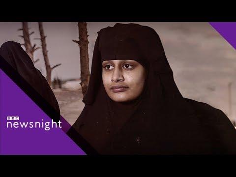 Shamima Begum: IS teen's baby death 'tragedy' - BBC Newsnight