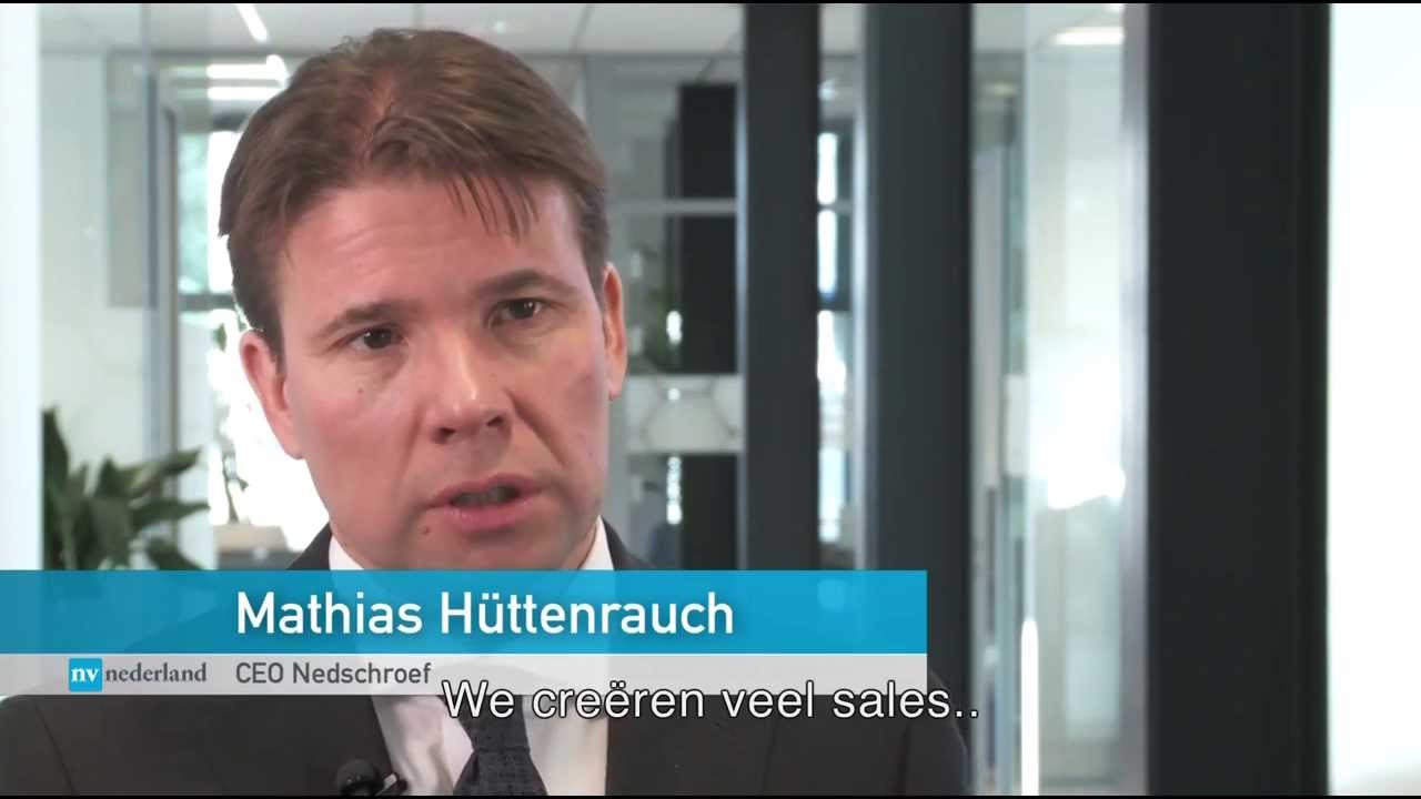 Interview of Mathias Hüttenrauch, CEO of Nedschroef - YouTube
