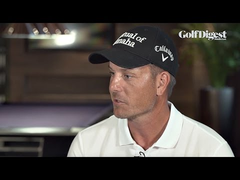 Henrik Stenson talks to Golf Digest Middle East