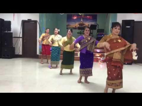 Dok Champa Dance by Apone Lao of WA