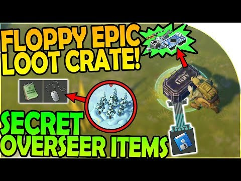 FLOPPY WITH COORDINATES EPIC LOOT + SECRET OVERSEER ITEMS - Last Day On Earth Survival 1.6.9 Update