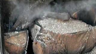 My Outdoor Wood Burner CHEAP HEAT!!!