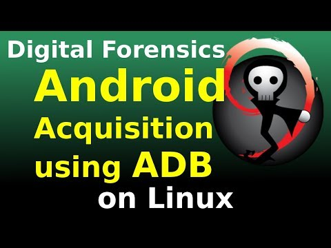 [Linux] Android Acquisition Using ADB, Root, Netcat And DD