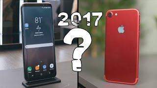 Quel smartphone acheter en 2017 ?