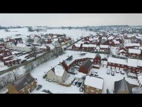 snow in yeovil 2018 HD