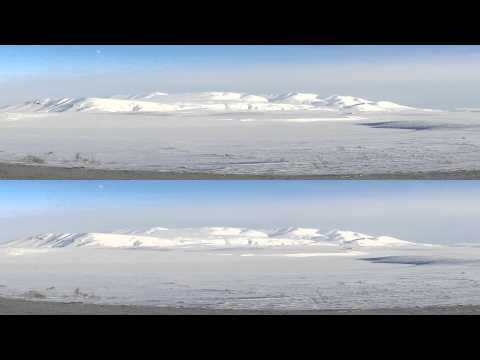 Antarctica-in-the-Arctic 2160-60p, over & under, suitable for QHD 3D TVs