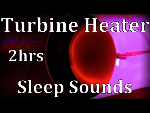 "Turbine Heater 2hrs ""Sleep Sounds"" ASMR"