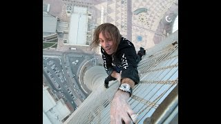 'Spider Man' Alain Robert Talks Vertigo & Shard Climb - March 2013