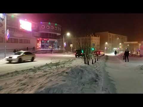 Зимний Анадырь - 18.12.2017, 18:49 в 4К