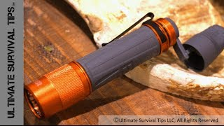 NEW Gear - Gerber Bear Grylls Rechargable Torch / Handcrank Flashlight - SHOT Show