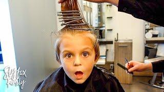 5 YEAR OLD HAIR TRANSFORMATION! | Slyfox Family